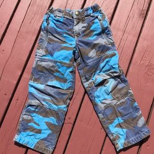 Mini Boden camouflage pants size 5